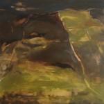 Cashleen Fields, Footprint, Tramyard Gallery, oil on canvas, 2008.