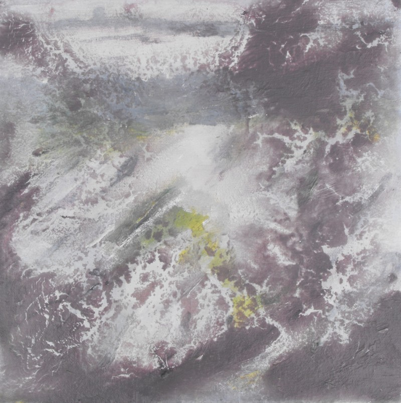 Casting Bright Light, Tearmainn Beag Iata, Áras Éanna, Inis Oirr, oil on canvas, 2008