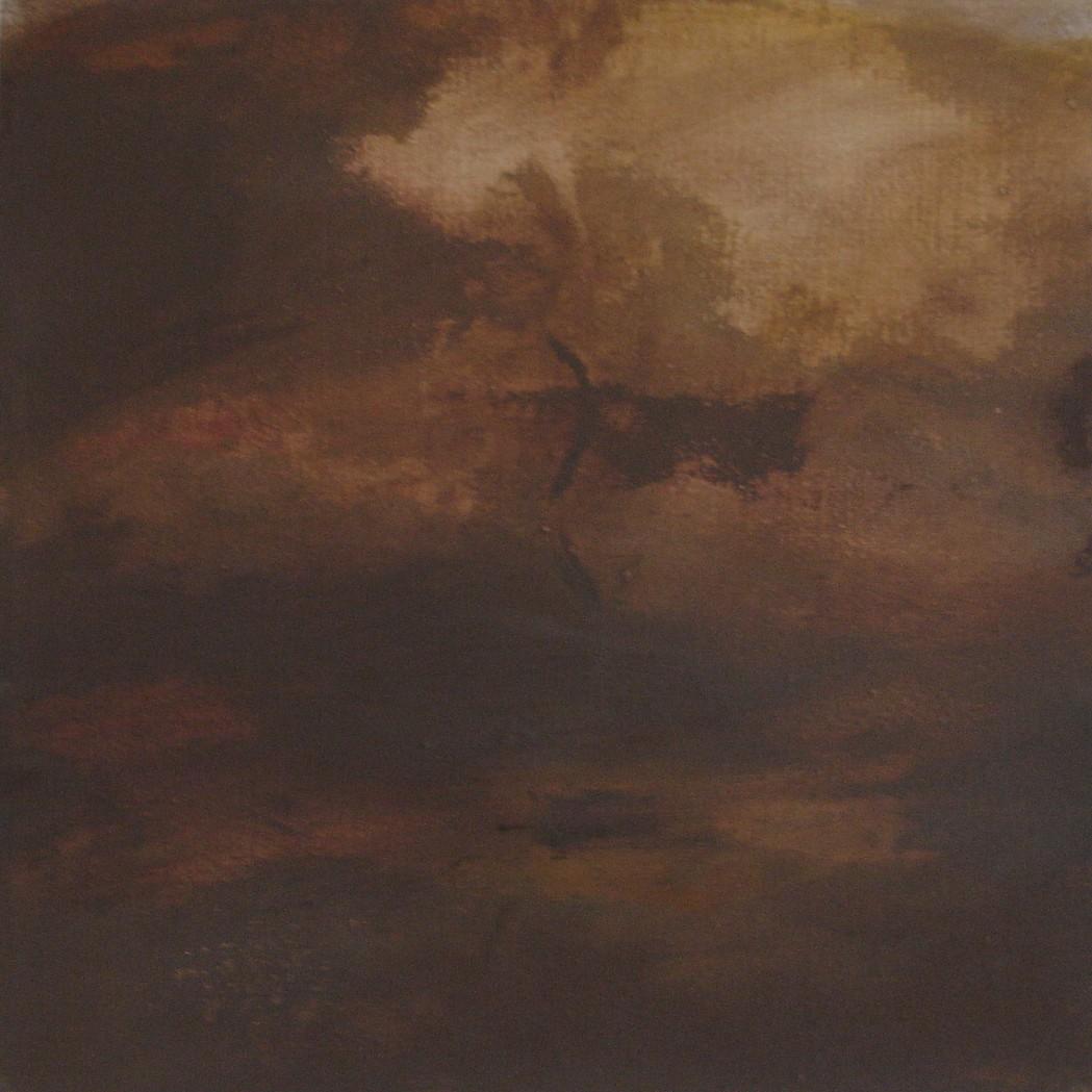 Footprint, Tramyard Gallery, oil on canvas, 2008
