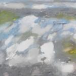 One Evening so Full of Light, Tearmainn Beag Iata, Áras Éanna, Inis Oirr, oil on canvas, 2008