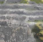 Tearmainn Beag Iata, Áras Éanna, Inis Oirr, oil on canvas, 2008