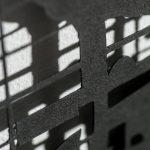 Simhallen(detail), shadow work in paper, Förort, Tyresö Konsthall, 2014, Photo: Niklas Alexandersson